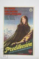 Original 1946 Devotion Cinema / Movie Advt Brochure - Ida Lupino, Paul Henreid, Olivia De Havilland, Sydney Greenstreet - Publicité Cinématographique