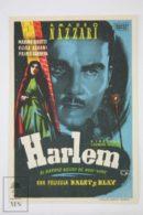 Original 1943 Harlem Cinema / Movie Advt Brochure - Massimo Girotti, Amedeo Nazzari, Vivi Gioi - Publicité Cinématographique