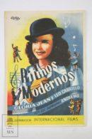 Original 1942 What's Cookin' Cinema / Movie Advt Brochure - The Andrews Sisters, Patty Andrews, Maxene Andrews - Publicité Cinématographique