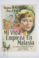 Original 1956 A Town Like Alice Cinema / Movie Advt Brochure - Virginia McKenna,  Peter Finch,  Kenji Takaki - Publicité Cinématographique