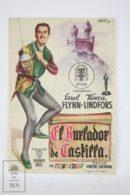 Original 1948 Adventures Of Don Juan Cinema / Movie Advt Brochure - Errol Flynn,  Viveca Lindfors,  Robert Douglas - Publicité Cinématographique