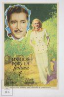 Original 1940 Lucky Partners Cinema / Movie Advt Brochure - Ronald Colman,  Ginger Rogers,  Jack Carson - Publicité Cinématographique