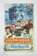 Original 1951 Show Boat Cinema / Movie Advt Brochure - Kathryn Grayson,  Ava Gardner,  Howard Keel - Publicité Cinématographique
