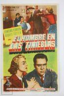 Original 1953 Man In The Dark Cinema / Movie Advt Brochure - Edmond O'Brien,  Audrey Totter,  Ted De Corsia - Publicité Cinématographique