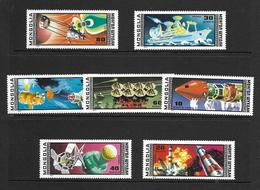 MONGOLIE 1977 ESPACE YVERT N°A77/83 NEUF MNH** - Space