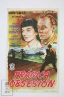 Original 1951 The Clouded Yellow Cinema / Movie Advt Brochure - Trevor Howard,  Jean Simmons,  Kenneth More - Publicité Cinématographique