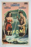 Original 1940 Typhoon Cinema / Movie Advt Brochure - Dorothy Lamour,  Robert Preston,  Lynne Overman - Publicité Cinématographique