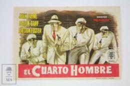 Original 1952 Kansas City Confidential Cinema / Movie Advt Brochure - John Payne,  Preston Foster,  Lee Van Cleef - Publicité Cinématographique