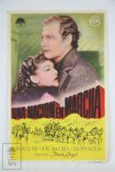 Original 1937 Wells Fargo Cinema / Movie Advt Brochure - Joel McCrea,  Bob Burns,  Frances Dee - Publicité Cinématographique