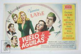 Original 1941 I Wanted Wings Cinema / Movie Advt Brochure - Ray Milland,  William Holden,  Wayne Morris - Publicité Cinématographique