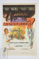 Original 1967 Maroc 7 Cinema / Movie Advt Brochure - Gene Barry,  Elsa Martinelli,  Leslie Phillips,  Cyd Charisse - Publicité Cinématographique