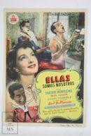 Original 1951 Fanfaren Der Liebe (Fanfares Of Love) Cinema / Movie Advt Brochure - Dieter Borsche,  Inge Egger - Publicité Cinématographique