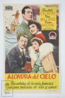 Original 1941 Skylark Cinema / Movie Advt Brochure -  Claudette Colbert,  Ray Milland,  Brian Aherne - Publicité Cinématographique