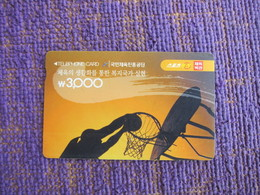 Autelca Magnetic Phonecard,basketball, Used - Korea, South