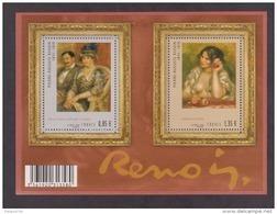 FRANCE / 2009 / Y&T N° 4406/4407 ** En Bloc Ou F4406 ** : BF Renoir - Gomme D'origine Intacte - Blocs & Feuillets
