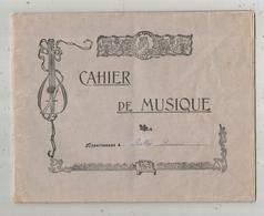 Cahier De Musique, 20 Pages , 6 Scans ,  Frais Fr 3.75 E - Buvards, Protège-cahiers Illustrés