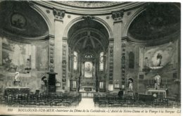 CPA - BOULOGNE-SUR-MER - INTERIEUR DU DOME DE LA CATHEDRALE - AUTEL DE NOTRE-DAME - Boulogne Sur Mer