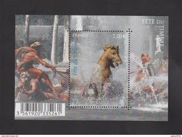 FRANCE / 2010 / Y&T N° 4440 ** En Bloc Ou F4440 ** : Fête Du Timbre (Chevaux/Protégeons L'eau) - Gomme D'origine Intacte - Blocs & Feuillets
