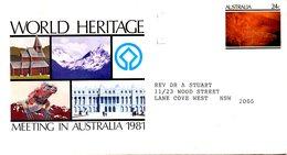 AUSTRALIE. Entier Postal De 1981 Ayant Circulé. Peinture Rupestre. - Préhistoire