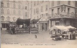 CPA - France - (83) Var - Toulon - Place à L'Huile - Toulon