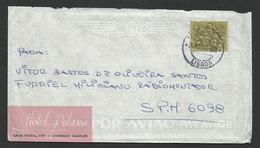 Portugal Courrier Des Armées Lettre 1971 SPM Guinée Guerre Coloniale Hotel Polana Mozambique Cover FPO Militar Mail - 1910-... République