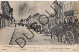 Postkaart - Carte Postale TIENEN/Tirlemont WOI 1914-1918 Artillerie Belge (K6) - Tienen