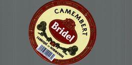 ETIQUETTE DE CAMEMBERT  BRIDEL - Cheese
