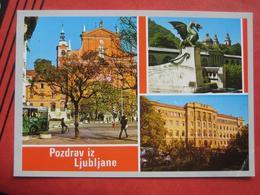 """Ljubljana / Laibach - Mehrbildkarte """"Pozdrav Iz Ljubljane"""" - Slowenien"""