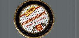 ETIQUETTE DE CAMEMBERT  FORZA - Cheese