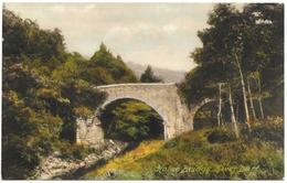 Holne Bridge River Dart Dartmoor Unused C1936 Frith - England