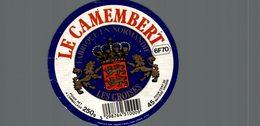 ETIQUETTE DE CAMEMBERT   LES CROISES - Fromage