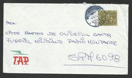 Portugal Courrier Des Armées Lettre 1970 Au SPM Guinée Guerre Coloniale TAP Airline Cover FPO Militar Mail Colonial War - 1910-... République