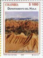 Lote 19r1, Colombia, 2003, Departamento De Huila, Desierto De La Tatacoa, Desert - Colombia