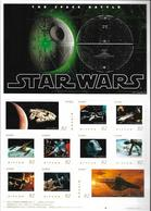 Japan Star Wars (stamp Only) 01 - Timbres