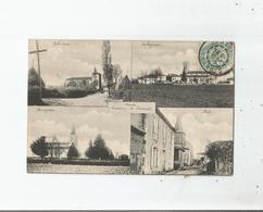 LANDES 4 VUES VILLAGES  ENVIRONS DE SAMADET (ARBOUCAVE . SERRES GASTON. AUBAGNAN .BATS ) 1906 - Altri Comuni