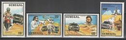Sénégal - YT 690-693 ** - Rallye Paris-Dakar - Sénégal (1960-...)
