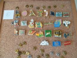 LOT DE 25 PIN'S  ( Lot N° 1 ) - Pin's