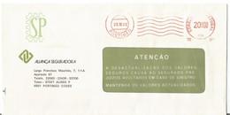 Portugal 1985 Franquia Mecânica Correio Normal Portimão Algarve Portugal  Ema, Mechanical Franchise Aliança Seguradora - Poststempel - Freistempel