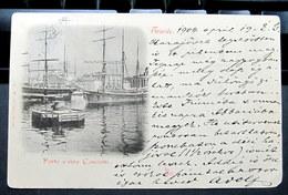 Italia / Italien / Italy: Trieste (Trst / Triest), Porto E Riva Carciotti  1904 - Trieste