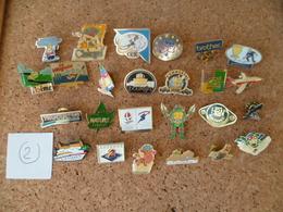 LOT DE 25 PIN'S  ( Lot N° 2 ) - Badges