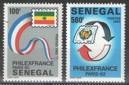 Sénégal - YT 583-584 ** - Philexfrance 82 - Sénégal (1960-...)