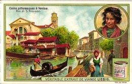 0972 Liebig 6 Cards- C1909  Picturesque Spots In Venice-Rio Di S.Trovaso-canal St. Marc-S.Barnaba-Miséricorde - Liebig
