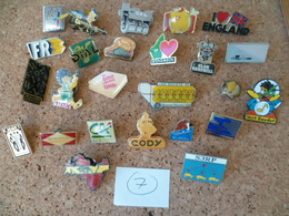 LOT DE 25 PIN'S  ( Lot N° 7 ) - Pin's