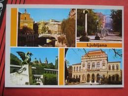 Ljubljana / Laibach - Mehrbildkarte - Slowenien