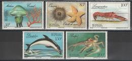 Sénégal - YT 685-689 ** - Faune Marine - Sénégal (1960-...)