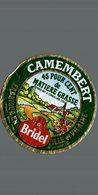 ETIQUETTE DE CAMEMBERT BRIDEL - Fromage