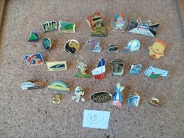 LOT DE 25 PIN'S  ( Lot N° 15 ) - Badges