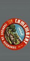 ETIQUETTE DE CAMEMBERT  MIRBEL - Fromage