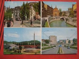 Ljubljana / Laibach - Mehrbildkarte / 2CV? - Slowenien