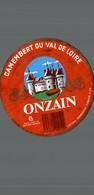 ETIQUETTE DE CAMEMBERT   ONZAN LOIR ET CHER - Cheese